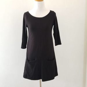 Fighting Eel A-line Soft & Stretchy Dress Black XS